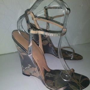 Floral Dolce Gabbana wedge heels